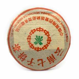 Жонг Ча ЛВ Шен Пуэр (блин), 357 г, 1990